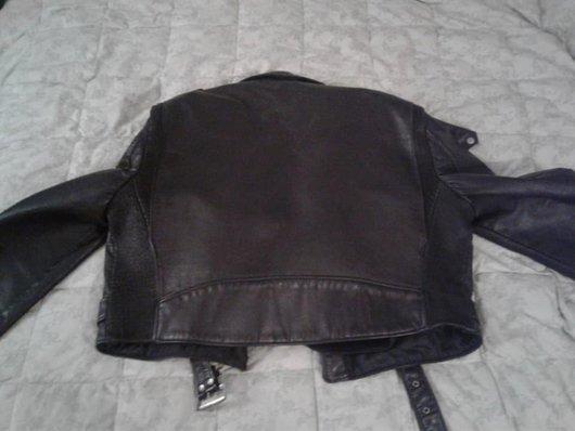 Back of MC jacket