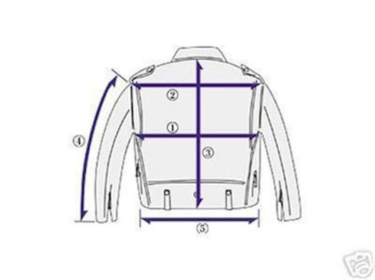 Five measures for proper jacket sizing