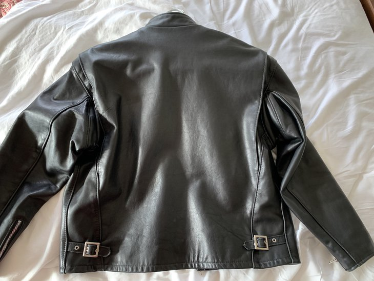 Rear, Black 141 jacket, size 46