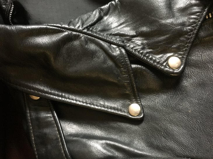 Lapel of the jacket