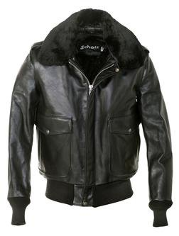184SM - A-2 Naked Cowhide Leather Flight Jacket
