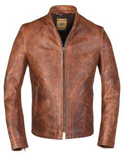 571 - Unlined Cafe Racer Jacket