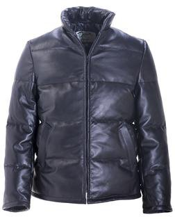 215D - Lambskin Down-filled Leather Jacket