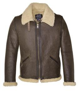 WWII Leather Bomber Jacket - Schott NYC