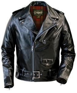 Jackets schott for men leather Schott Horween