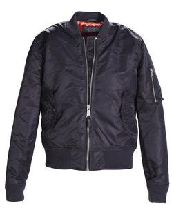 928J - Slim Fit Nylon Flight Jacket