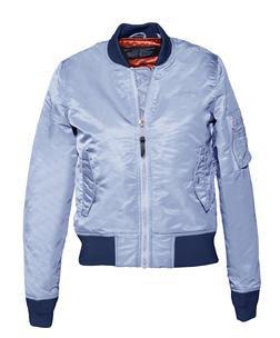 928JW - Women's Nylon Flight Jacket (Bordeaux)