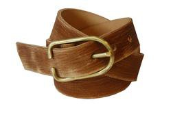 BELT1 - Hand-Worked Vegetable-Tanned Horween Leather Belt