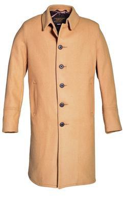 C729NE - Wool Officer's Trenchcoat