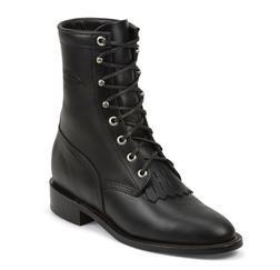 """W66BW - Chippewa Women's 8"""" Lacer Boots (Black)"""