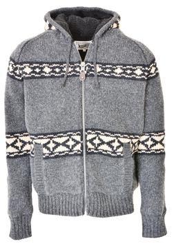 "F1415 - 27"" Hooded Sweater Jacket"
