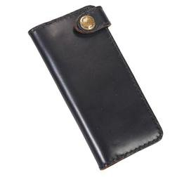 H9 - Horween Horsehide Long Wallet (Black)