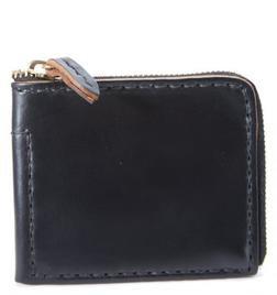 HH11 - Horween Horsehide Zipper Wallet (Black)