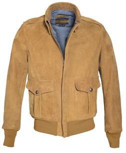 P262 - Men's Suede A-2 Jacket