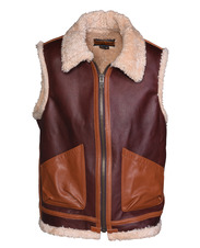 P267V - Men's Leather Vest