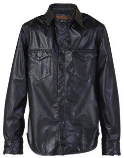P524 - Scout - Men's Leather Shirt