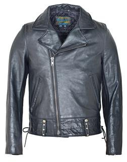 """P6421 - Chips """"California Highway Patrol"""" Leather Jacket"""