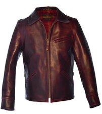 P653 - Men's Horween Steerhide Motorcycle Jacket