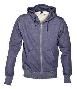 PF03 - Zip Front Sweatshirt (Indigo)
