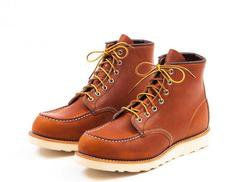 "R3375W - Red Wing Women's 6"" Classic Moc Toe Boot"