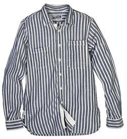 SH1324 - Vertical Dobby Stripe Fine Weave Cotton Shirt