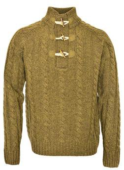 "SW1420 - 26"" Toggle Pullover Sweater"