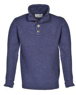 SW1614 - Men's Funnel Neck Military Sweater