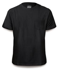 TEE1 - Medium Weight Pocket Tee (Black)