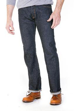 US6039 - 13 Oz. Japanese Selvedge Denim Jeans (Indigo)