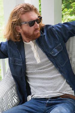 K502 - Men's Henley Cotton Shirt