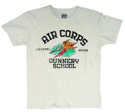 TGUN1 - Air Corps Gunnery Tee (Offwhite)