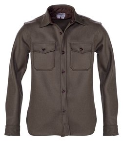 SHP781 - Men's CPO Wool Shirt