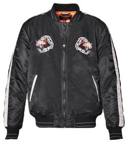 9630 - Men's Nylon Tour Jacket (Black)