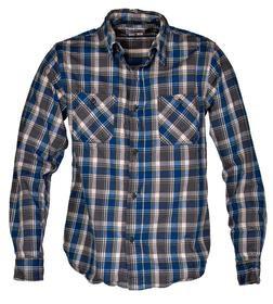 SH1601 - Woven Cotton Shirt (Aqua)
