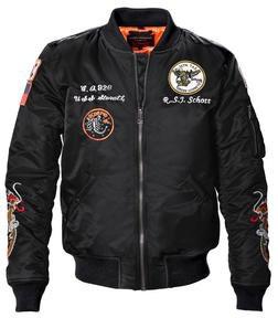 9629 - Men's Nylon Flight Jacket