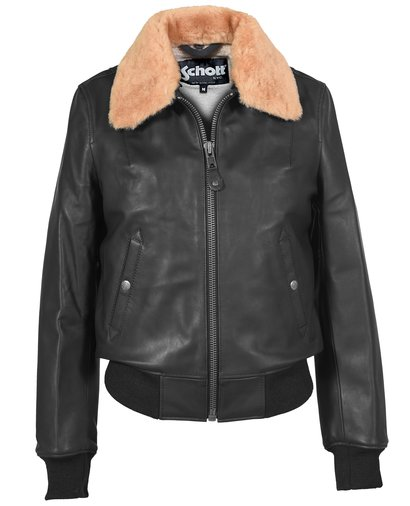 Leather bomber jacket women's