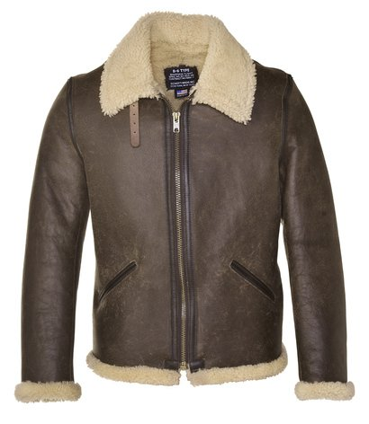 Mens Sherling Leather Jacket 9gGERuq9gh