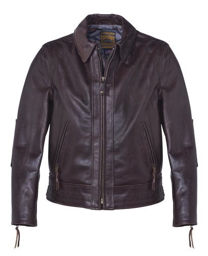 585 - Vintage Leather Jacket