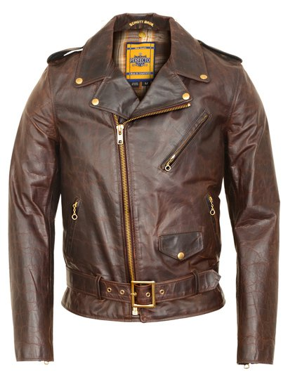 Brown Perfecto Motorcycle Jacket
