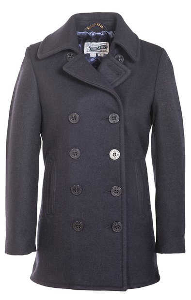 Womens Wool Peacoat
