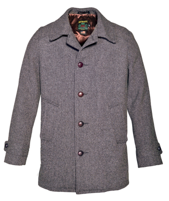 Tweed Car Coat