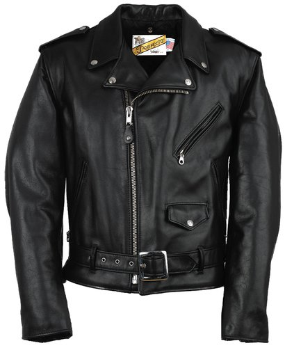 462295f21 Mens Classic Leather Motorcycle Jacket