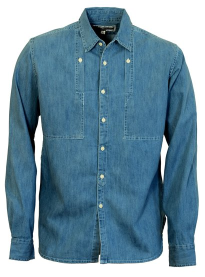 SH1326 - Men's Chambray Work Shirt