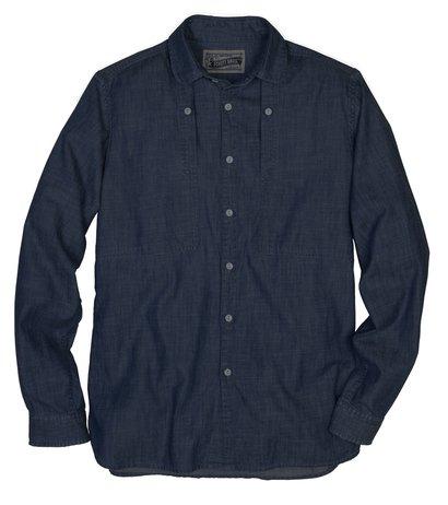 SH1326 - Men's Chambray Work Shirt