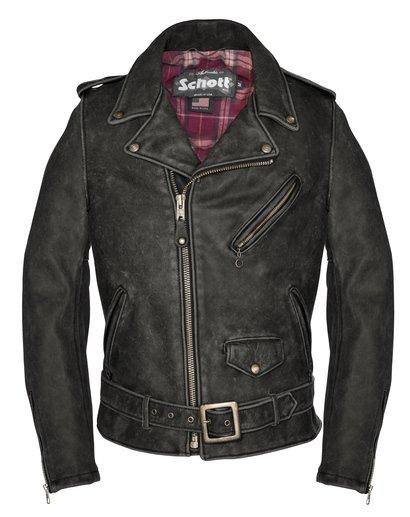 626VN Cowhide Leather Motorcycle Jacket